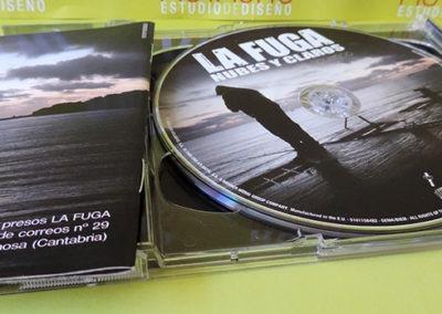 CD Nubes y claros - La Fuga