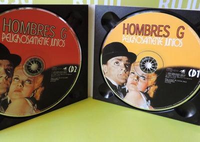 CDs Peligrosamente juntos - Hombres G