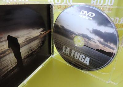 DVD Nubes y claros - La Fuga