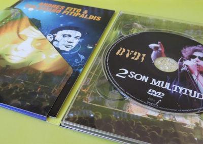 """DVD1 de """"2 son multitud"""" - Calamaro y Fito"""