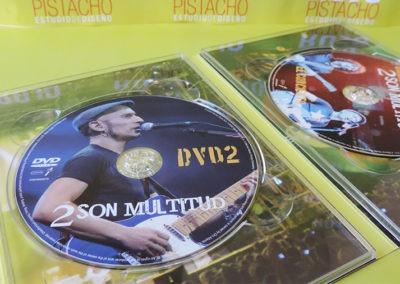 """DVD2 de """"2 son multitud"""" - Calamaro y Fito"""