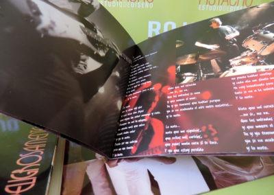Libreto disco Peligrosamente juntos (3) - Hombres G