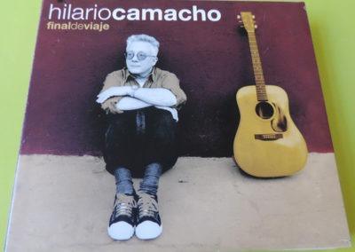 Portada disco Final de Viaje - Hilario Camacho