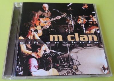 Portada disco Sin enchufe - Mclan