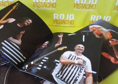 Libreto disco Directo en Las Ventas (2) - Rosendo