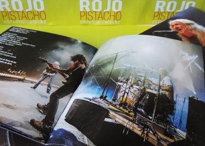Libreto disco Directo en Las Ventas (3) - Rosendo
