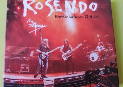 Portada disco Directo en Las Ventas - Rosendo