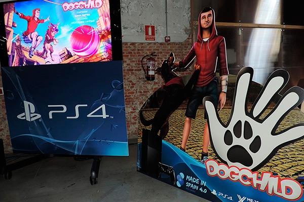 Presentación del videojuego Dogchild