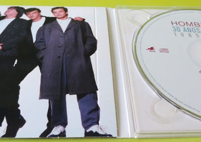 CDs 30 años y un día Hombres G