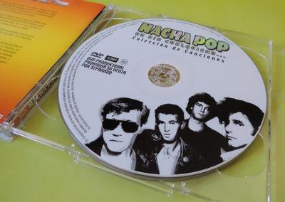 DVD Un día cualquiera 2 Nacha Pop