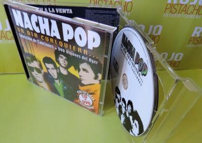 DVD Un día cualquiera Nacha Pop