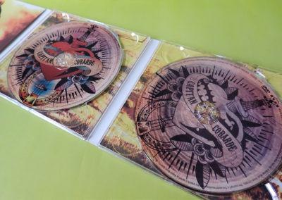 CD y DVD Capitán Cobarde
