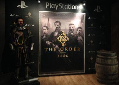 Presentación del videojuego The Order para Play Station 2