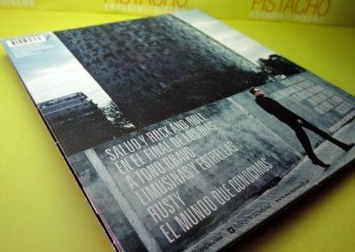 Contraportada de CD Viento del Este de Loquillo