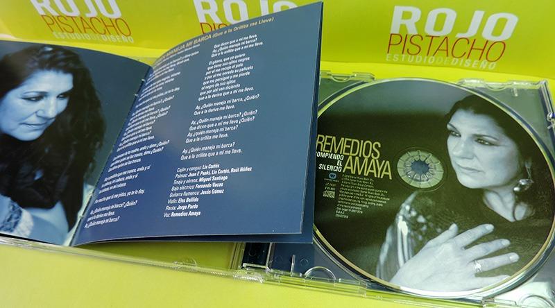 Diseño CD Rompiendo el Silencio de Remedios Amaya 1