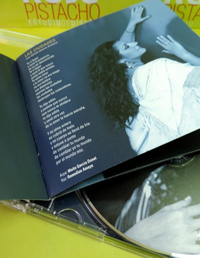 Diseño CD Rompiendo el Silencio de Remedios Amaya 2
