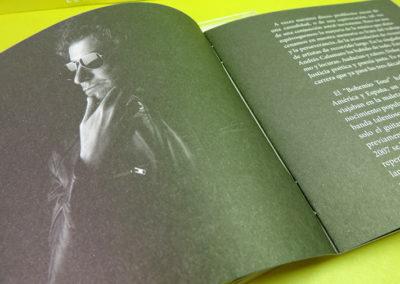 Diseño de CD Romaphonic Sessions de Andrés Calamaro 3