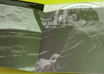 Diseño de CD Romaphonic Sessions de Andrés Calamaro 4