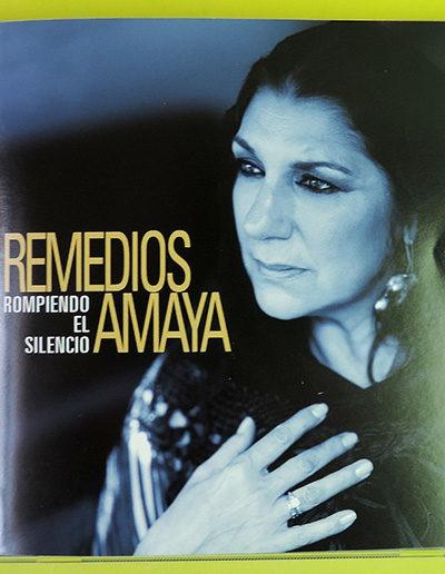 Diseño portada de CD Rompiendo el Silencio de Remedios Amaya