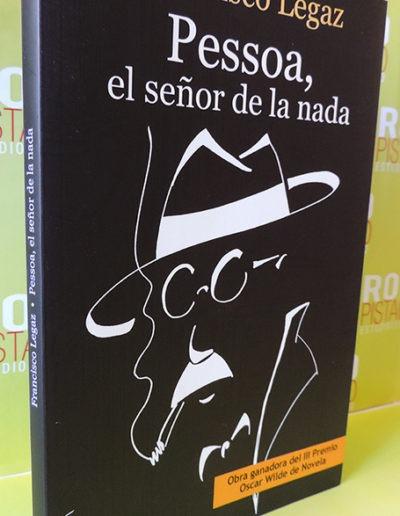 Portada libro Pessoa el señor de la nada Ediciones Irreverentes 1