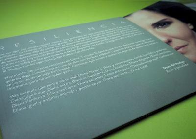 Interior CD Resiliencia de Diana Navarro