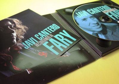 Diseño CD Recordando al Fary de Javi Cantero 1