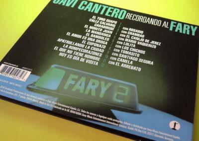 Diseño contraportada CD Recordando al Fary de Javi Cantero 1