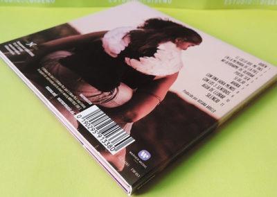 Diseño contraportada disco Rosana En la memoria de la piel 1