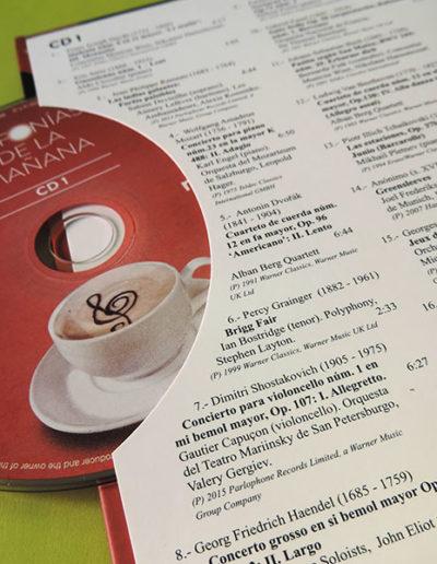 Diseño edición especial Sinfonías de la mañana Radio Clásica 2 1