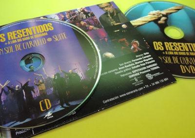 Diseño interior CD Fai un sol de carallo Suite de Os Resentidos 2 1