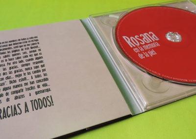 Diseño interior CD Rosana En la memoria de la piel 1