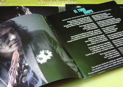 Diseño libreto CD Recordando al Fary de Javi Cantero 1 1