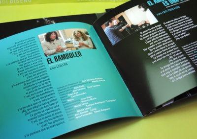 Diseño libreto CD Recordando al Fary de Javi Cantero 2 1