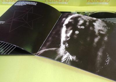 Diseño libreto CD Vulcano Sober 2 1