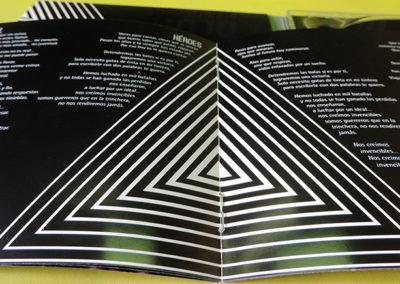 Diseño libreto CD Vulcano Sober 3 1