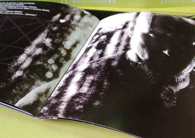 Diseño libreto CD Vulcano Sober 4 1