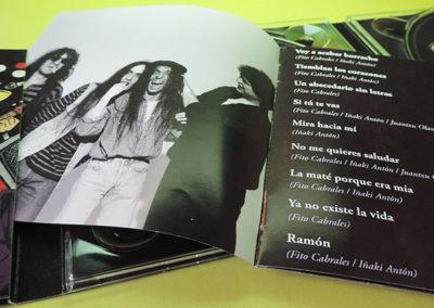 Diseño libreto CDs colección definitiva de Platero y Tu 1 1