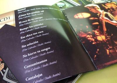 Diseño libreto CDs colección definitiva de Platero y Tu 2 1