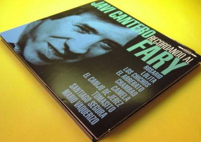 Diseño portada disco Recordando al Fary de Javi Cantero 1