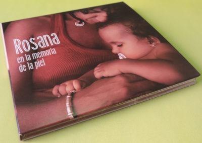 Diseño portada disco Rosana En la memoria de la piel 1