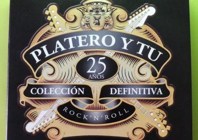 Diseño portada disco colección definitiva de Platero y Tu 1