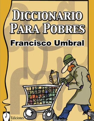 Portada libro Diccionario para pobres Francisco Umbral