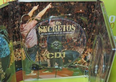 CD1 Edición especial Gracias por elegirme Los Secretos