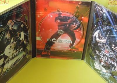 CDs Edición especial 20 aniversario Sober