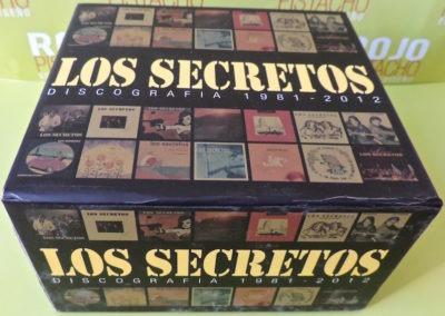 Caja discografía 1981 2012 Los Secretos 1
