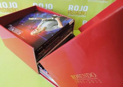 Contenido Caja Edición especial 1985 2011 Rosendo