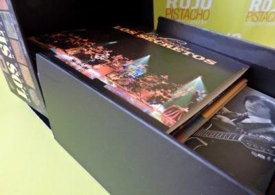 Contenido caja discografía 1981 2012 Los Secretos 1