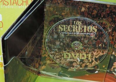 DVD1 Edición especial Gracias por elegirme Los Secretos