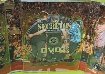 DVD2 Edición especial Gracias por elegirme Los Secretos