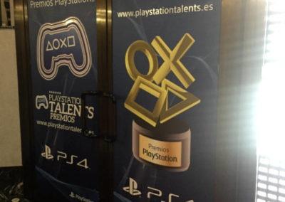 Diseño Decoración Premios Play Station 2017 Rojo Pistacho 4